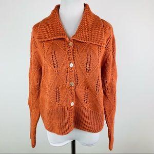 Sundance Baby Alpaca Button Front Cardigan Sweater